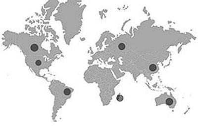labradorita mapa yacimientos