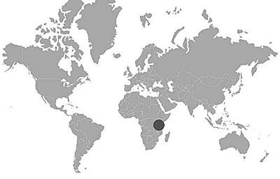 tanzanita mapa yacimientos