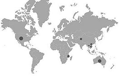 zafiro mapa yacimientos
